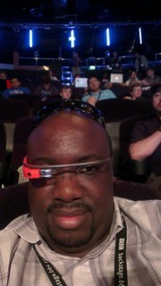 Me with Google Glass