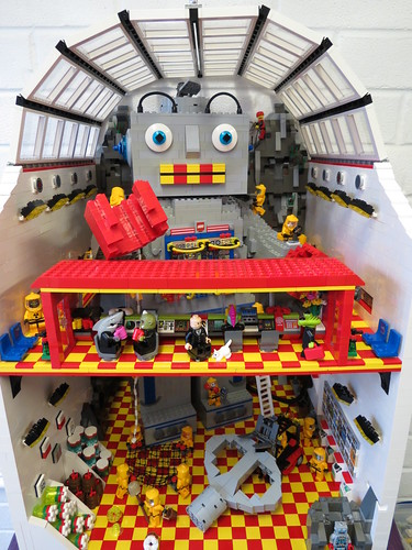 Building A Giant Lego Robot In A Secret Lair