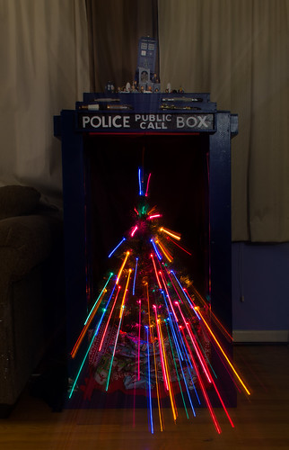 A Very Tardis Christmas (P365-340) by wizzer2801