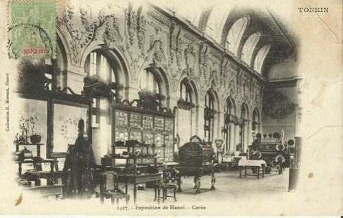 001 Korean exhibit at Hanoi Exhibition in 1902