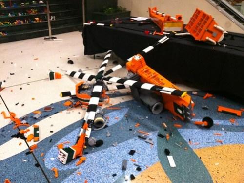 LEGO Vandalism
