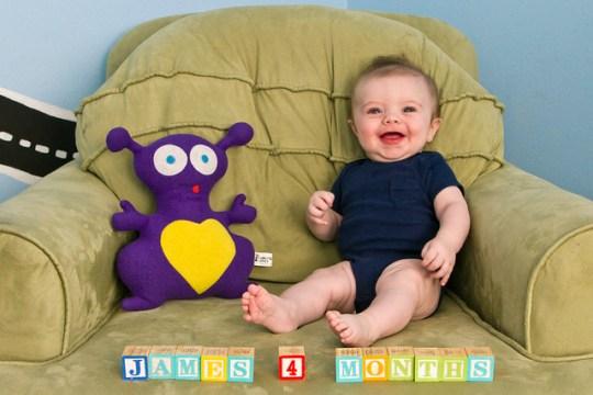 James, month four