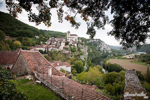 Saint-Cirq Lapopie (Francia)