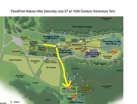 FloydFest Nature Hike