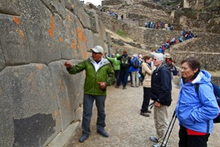 Private Tour to Pisac Ruins and Pisac Market in the Sacred Valley of Peru.
