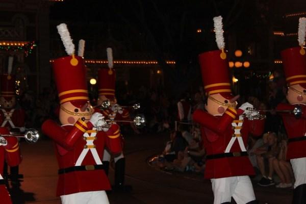 A Christmas Fantasy parade 2013 at Disneyland