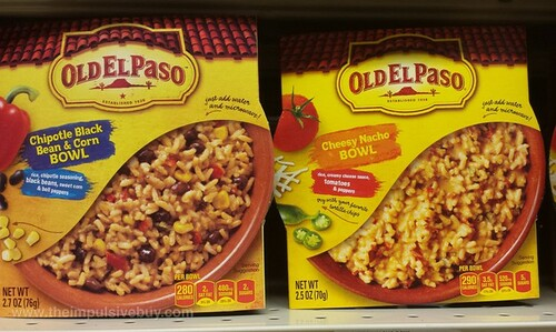 Old El Paso Microwaveable Bowls