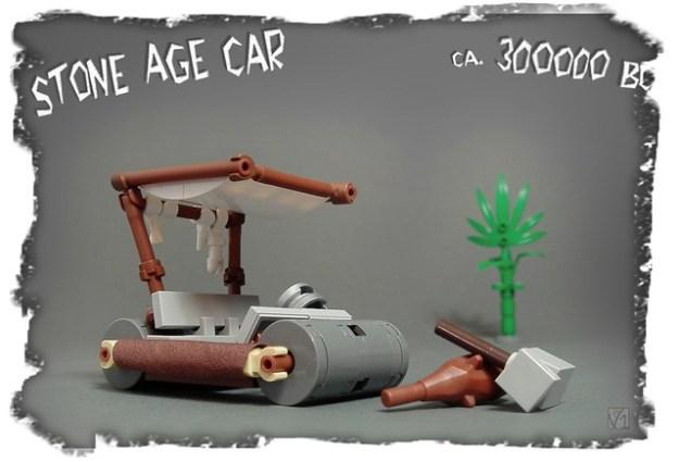 Flintstones' car (ca.300000BC)