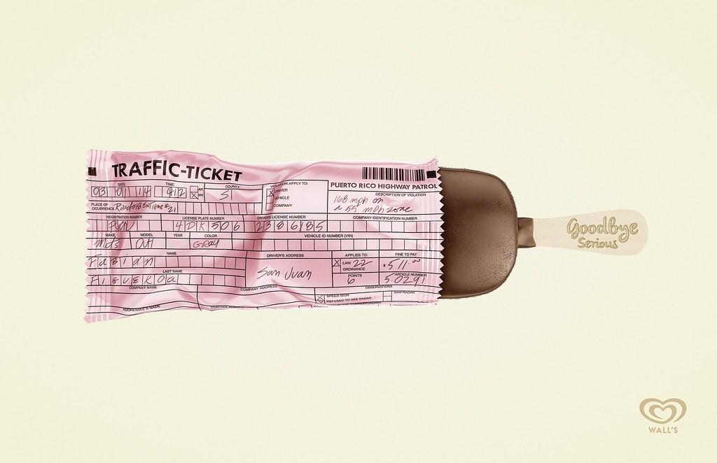 Wall's - Traffic Ticket