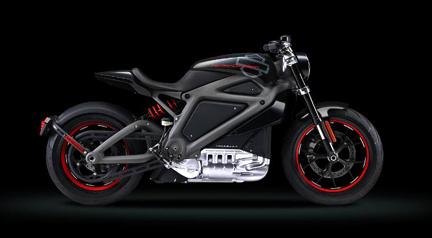 Harley-Davidson Motor Company Side View