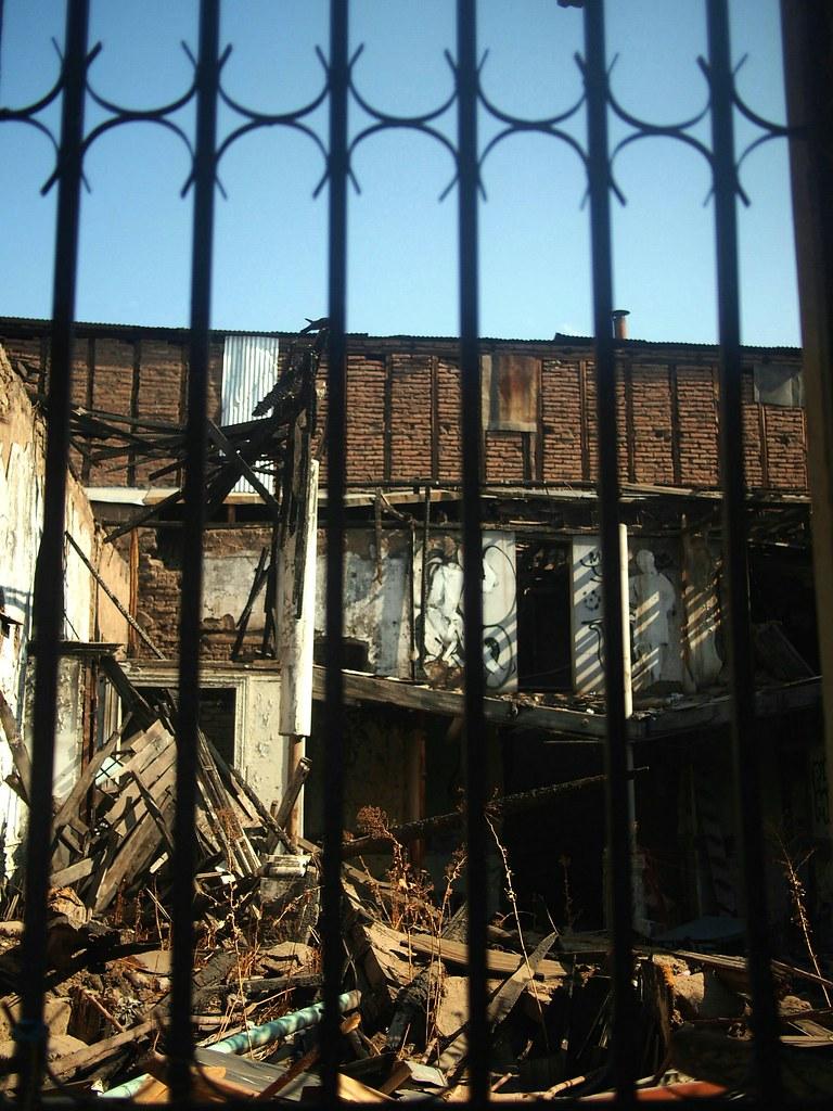 Disused buildings