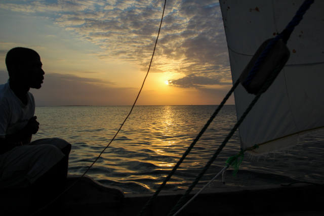 Sunset dhow cruise