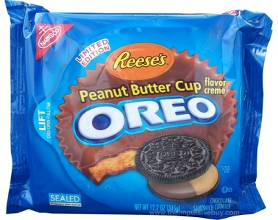 Nabisco Limited Edition Reese's Peanut Butter Cup Oreo Cookies