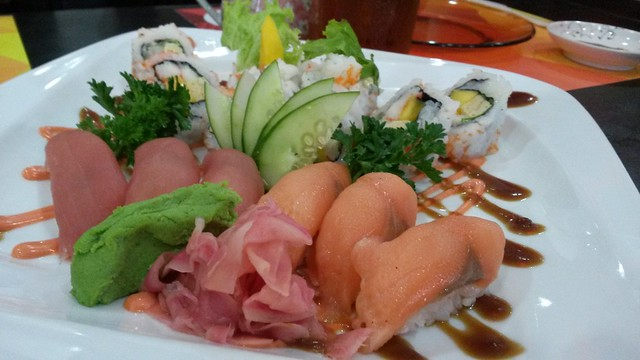 Nemoto mixed sushi