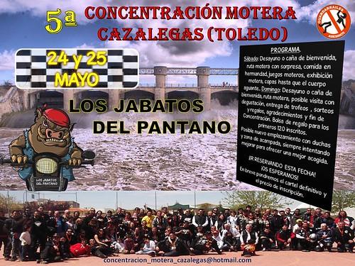 5ª Concentración Motera Cazalegas - Toledo
