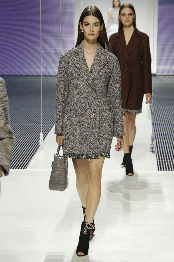 Christian Dior Tweed Coat from Cruise 2015 collection