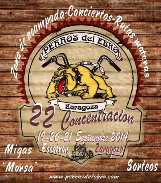 22 Concentración Perros del Ebro - Escatrón (Zaragoza)