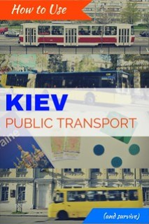 Kiev Public Transportation - How to use it, and how not to go crazy doing it