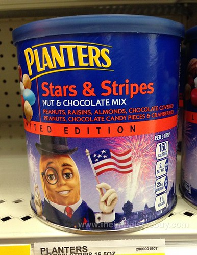 Planters Limited Edition Stars & Stripes Nut & Chocolate Mix