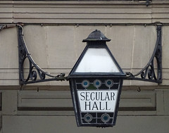 Secular Hall Lamp, Leicester