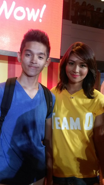 with Kathryn
