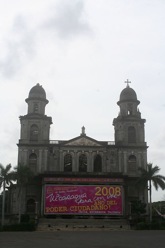Central Cathedral in Managua
