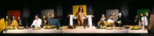 Yo Mama's Last Supper (1996)—Renee Cox