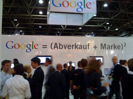 Google Abverkauf
