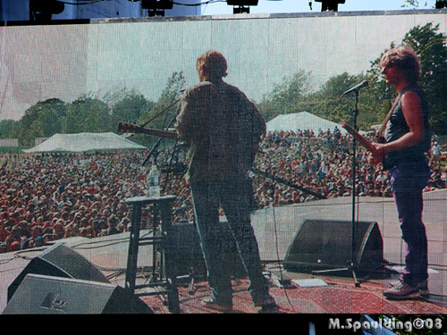 Trey Anastasio and Mike Gordon @ Rothbury 2008