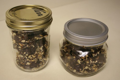 Jars of Renewal: Chocolate Covered Sunflower Seeds