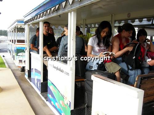Airport coach - Koh Samui, Thailand