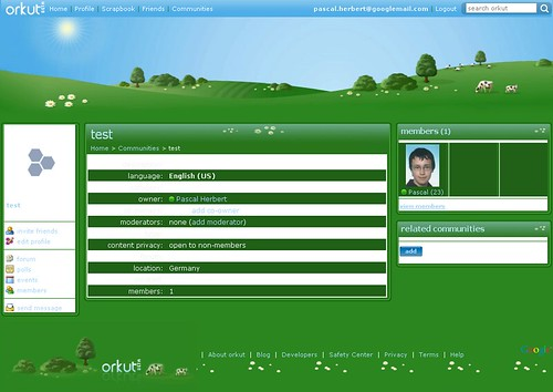 orkut theme - country