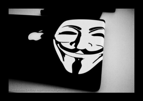 Guy Fawkes MacBook