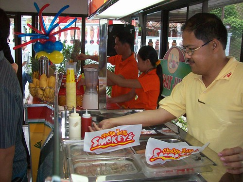 snack booths