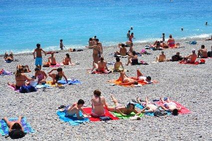 côte d'azur beach