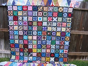 Mom's dear jane quilt