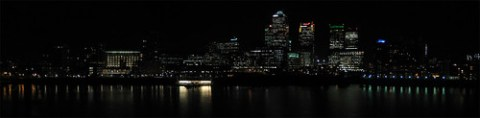 Canary Wharf  from Rotherhithe