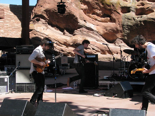 Foals, Monolith Festival, Red Rocks 09/12/08
