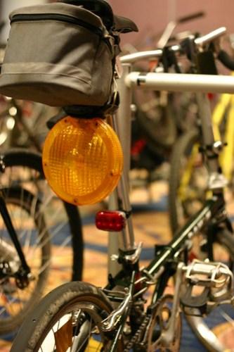 Huge bicycle light