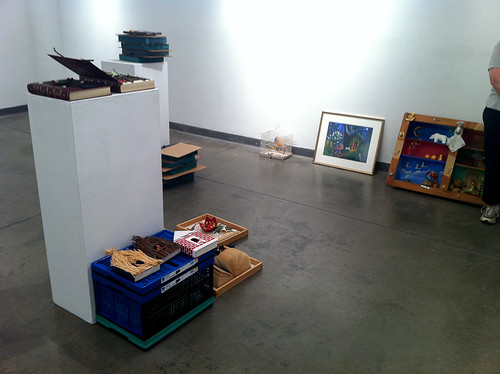 Seymour Gallery - Dropping off work-2