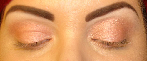 Bare Escentual Shimmer in Tropics, Benefit High Brow