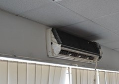 busted air conditioner