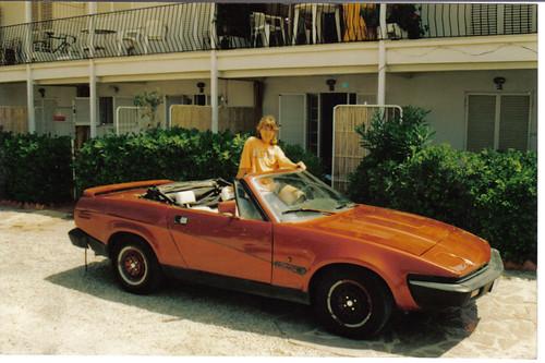 Mi triumph Tr7 1969