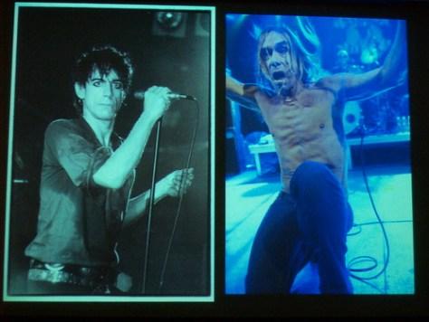 Iggy Pop decades apart by Kk and Bev Davies at NV09
