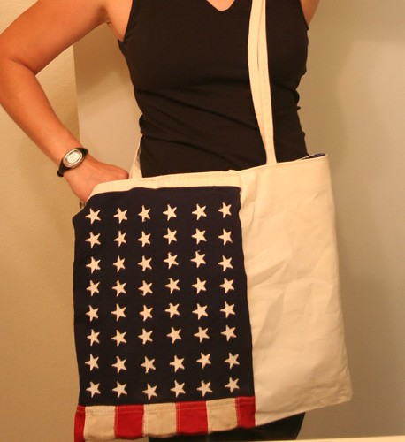star spangled bag