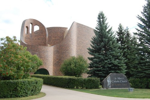 St. Mary's Church, Red Deer, AB