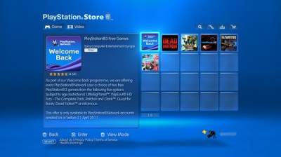 Welcome Back Content Is Available Now; Frequently Asked Questions Answered - PlayStation.Blog.Europe