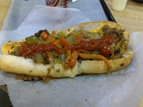 13/12/2008 - Jim's Cheesesteak!