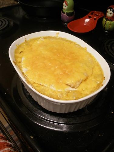Dinner invention: Chicken Quesadilla Casserole