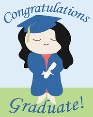 Custom Graduation Print - Girl